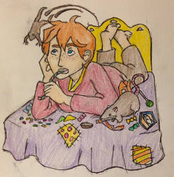 A Boy and his RAT by DidxSomeonexSayxMad