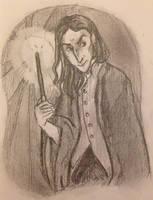 Severus Snape by DidxSomeonexSayxMad