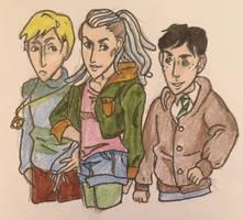 The Trio We Got by DidxSomeonexSayxMad