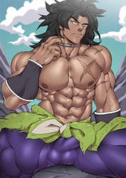 Broly by Suyohara