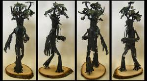 Walking, Beard-Twirl Tree Man