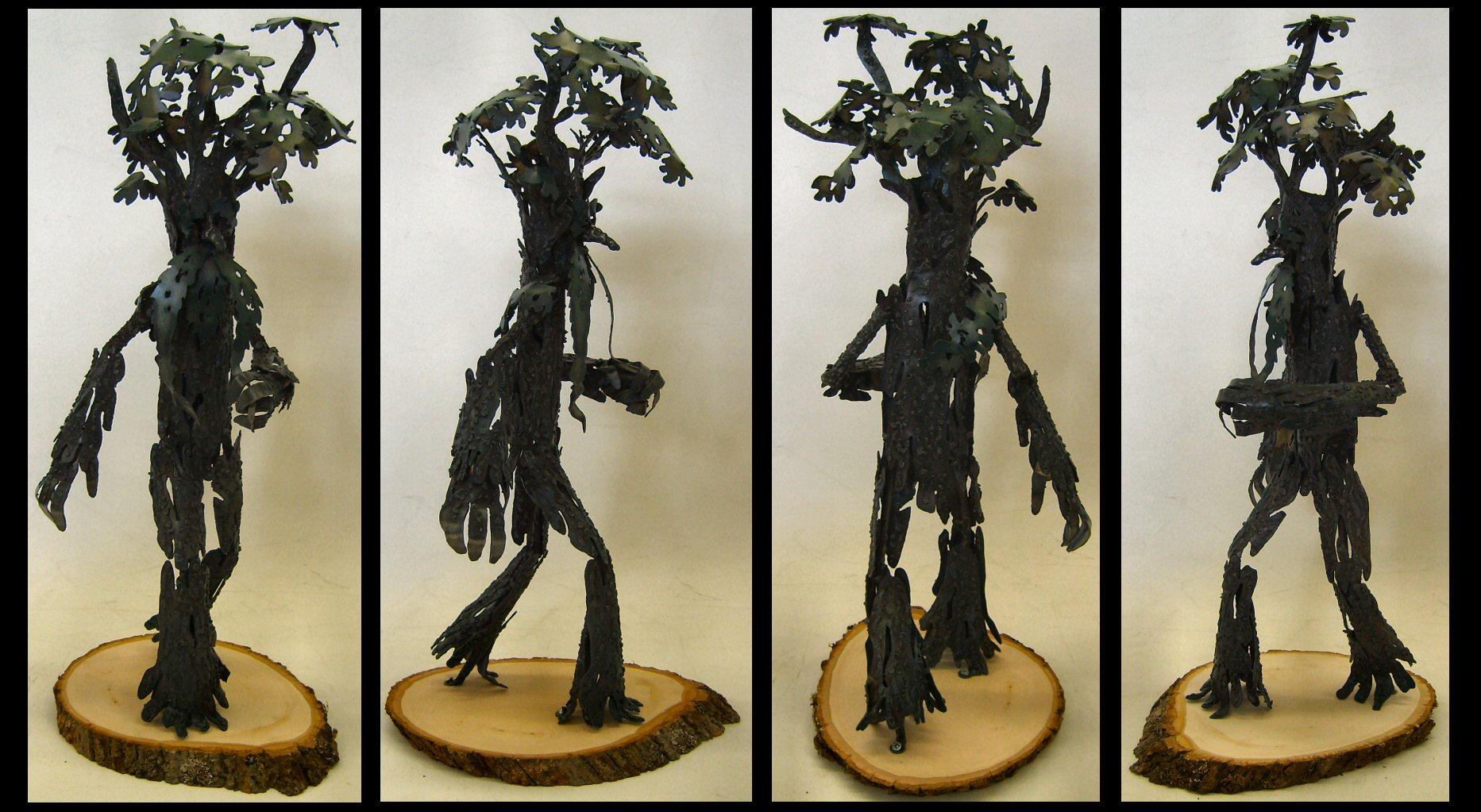 Walking, Beard-Twirl Tree Man by Angi-kat