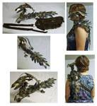 Iron Phoenix Dragon Shoulder Pet
