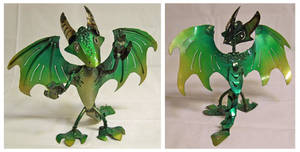 Green Drageen 2.0 by Angi-kat