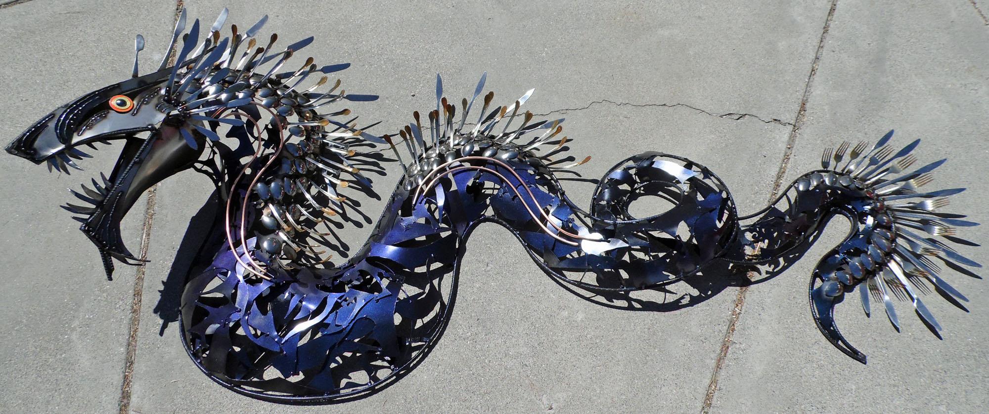 Silverware Sea Dragon by Angi-kat