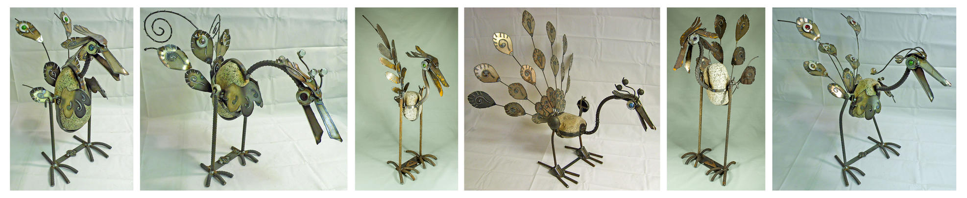 Collection of Rock Birds by Angi-kat