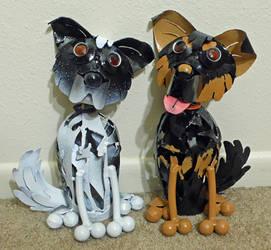 Pair of Custom Pups