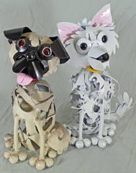 Pair of Custom Pups 2