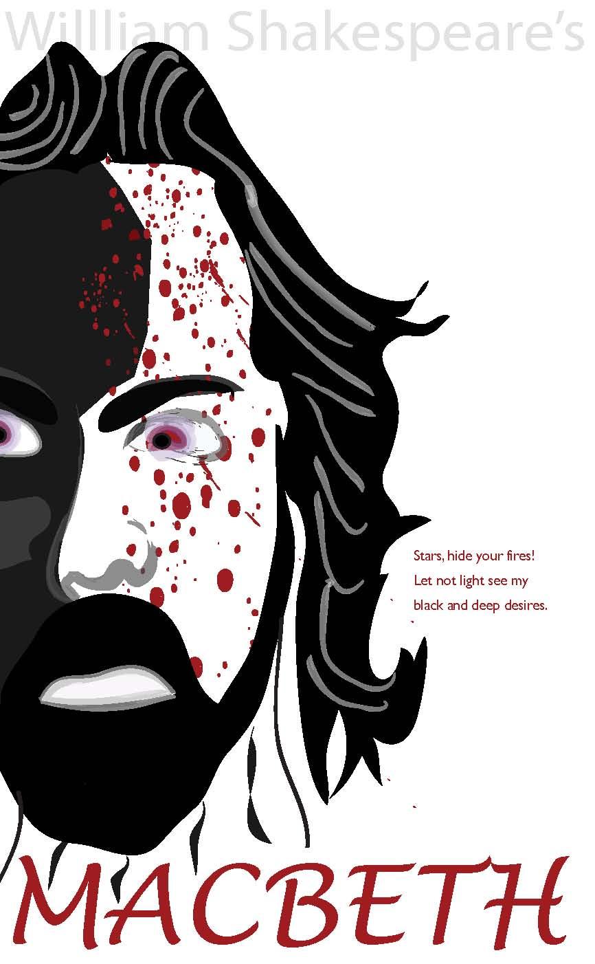 Book Cover - Macbeth by silentbean on DeviantArt
