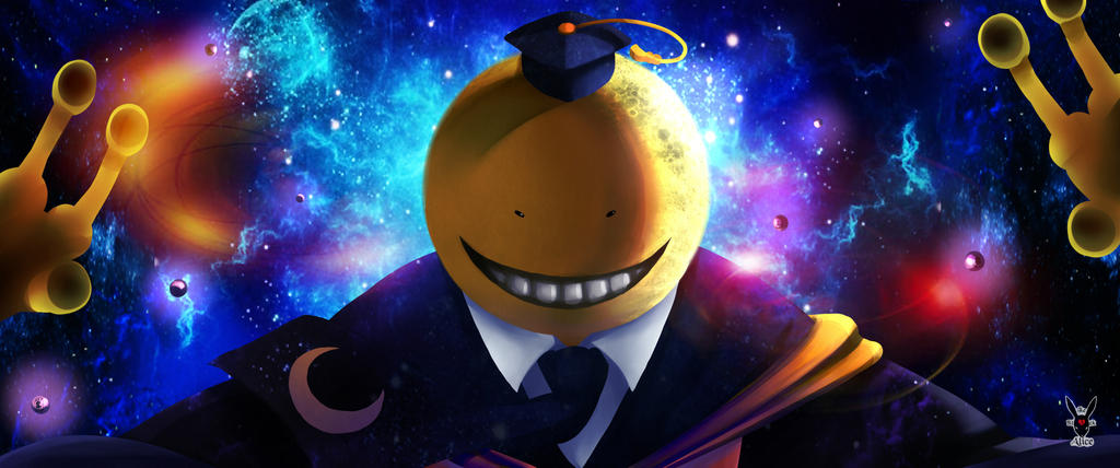 Koro-Sensei by The-Black-Alice