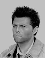 Misha Collins Finished by Turtleraces