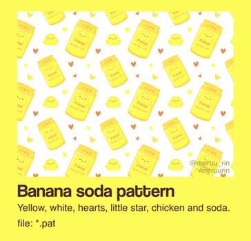 pattern | banana soda