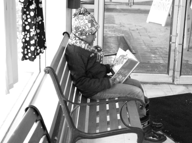 Little Reader by waitingforlefty
