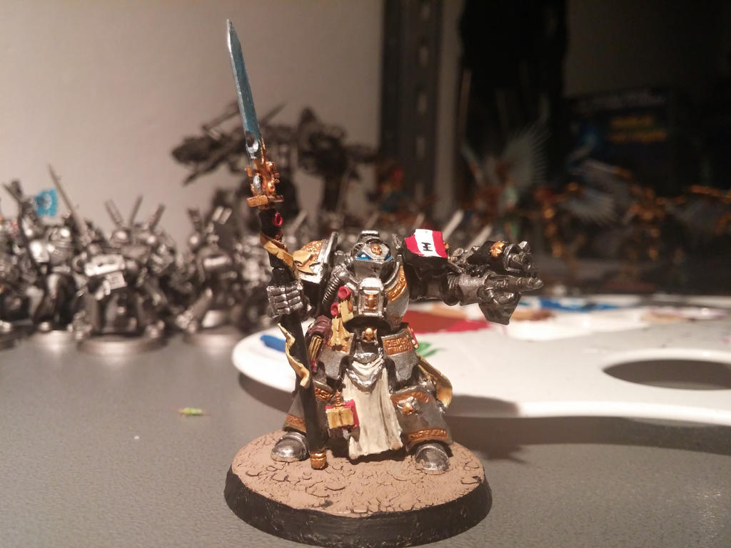 Brother Captain Grey Knights by Menhar