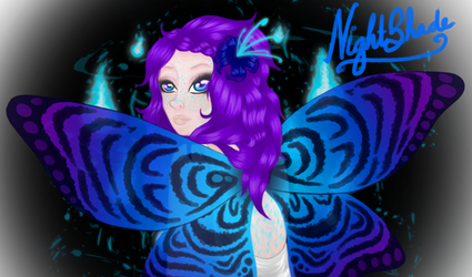 NightShade by SabyPixie