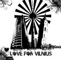 Vilnius in urban style by Mindux692