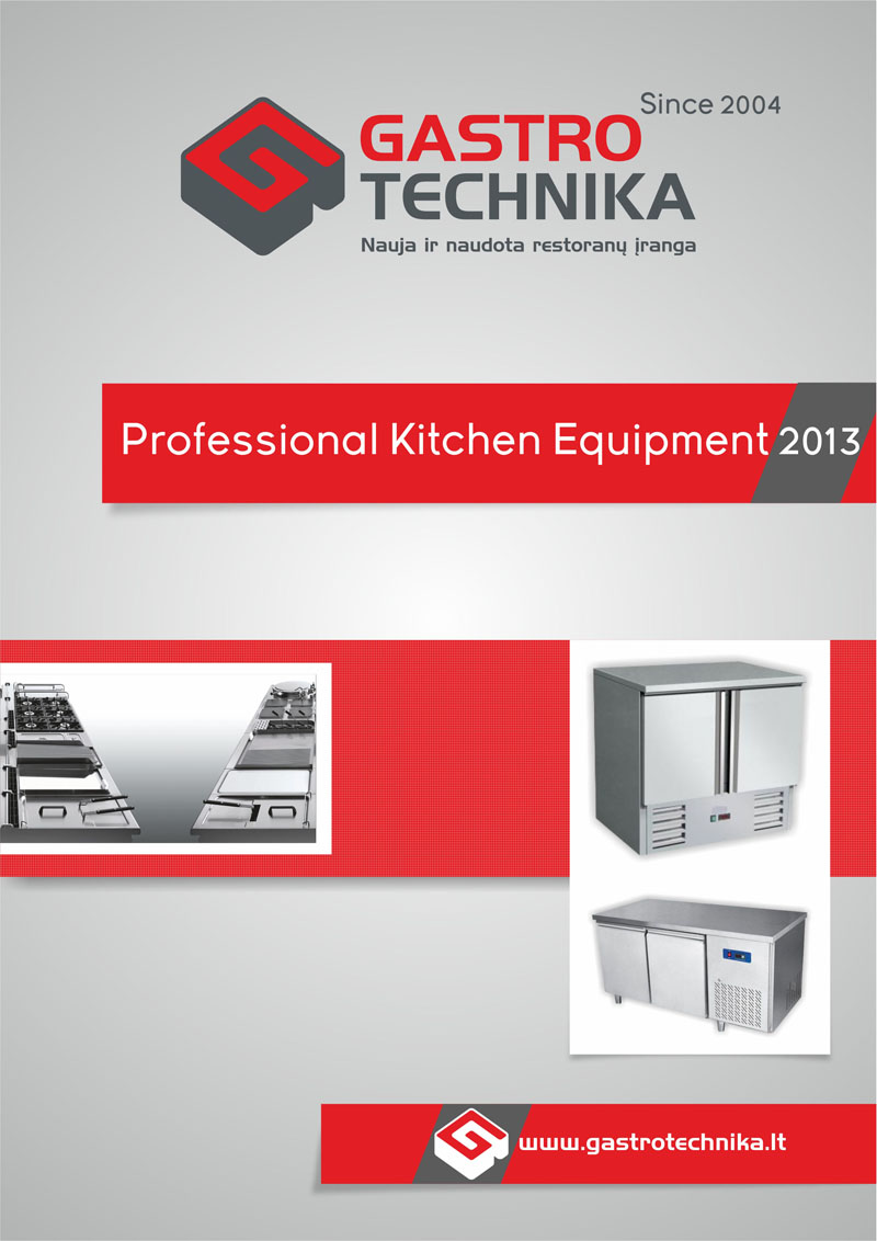 Gastrotechnika catalog design no.2 by Mindux692