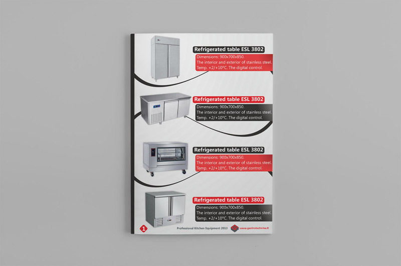 Gastrotechnika catalog page design (2) by Mindux692 on DeviantArt