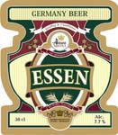 Beer's label