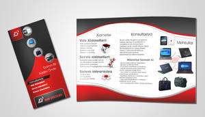 brochure A4 for Ray Systmes