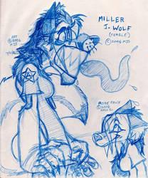 Female Miller Wolf LOLZ by millerjsullivan