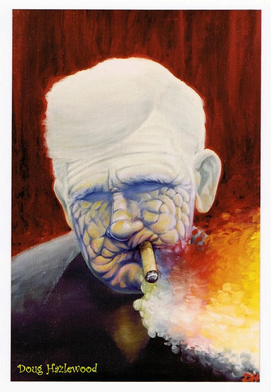 UP IN SMOKE - Doug Hazlewood by DRHazlewood