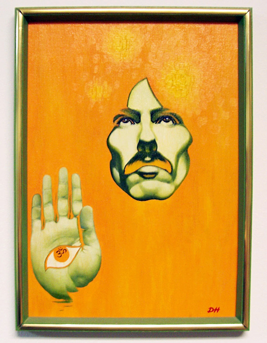 George Harrison Painting (Doug Hazlewood) by DRHazlewood