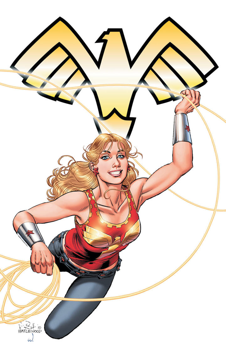 WONDER GIRL SPECIAL #1 - Cover Art Color Version by DRHazlewood