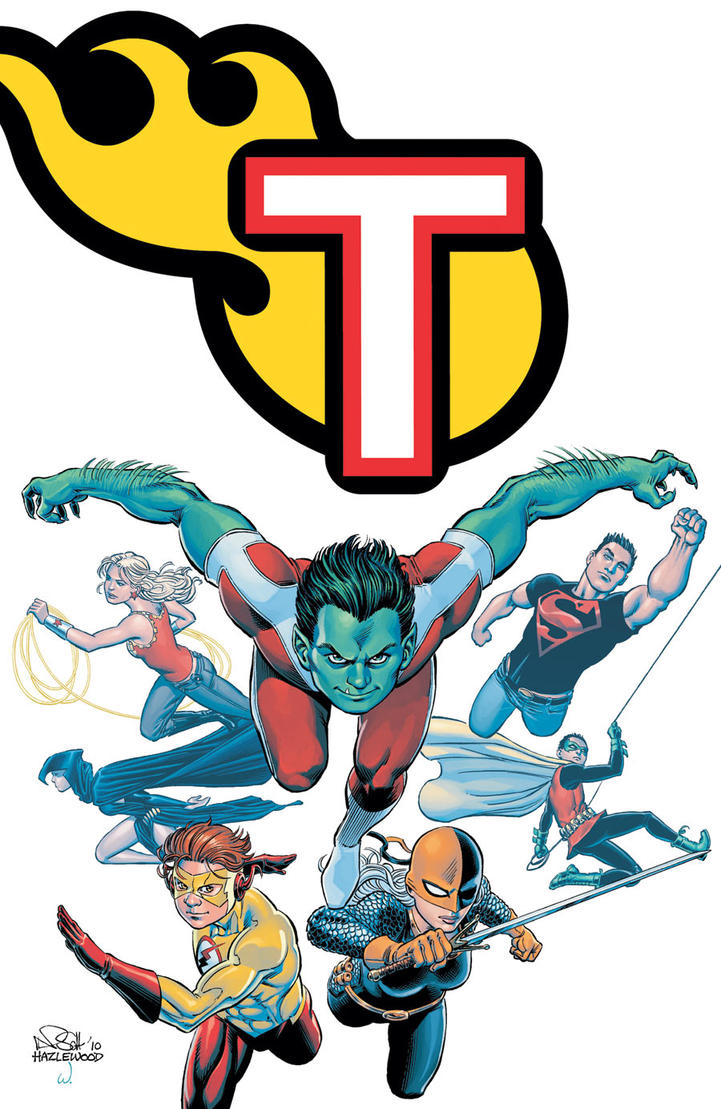TEEN TITANS #91 Cover Art - COLOR VERSION by DRHazlewood