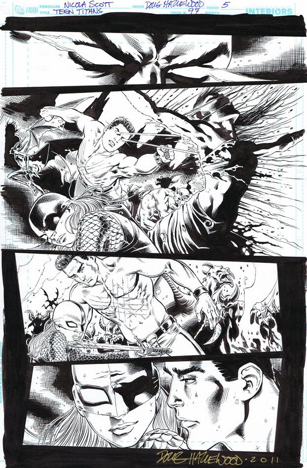 TEEN TITANS 97 - SUPERBOY, RAVAGER-Demon Demise by DRHazlewood