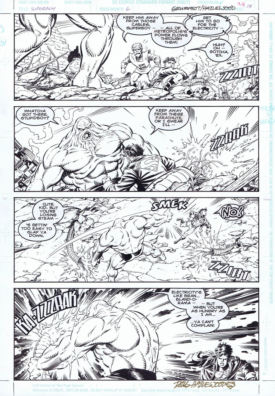 SUPERBOY #6 - PARASITE vs. SUPERBOY Grummett / DH by DRHazlewood