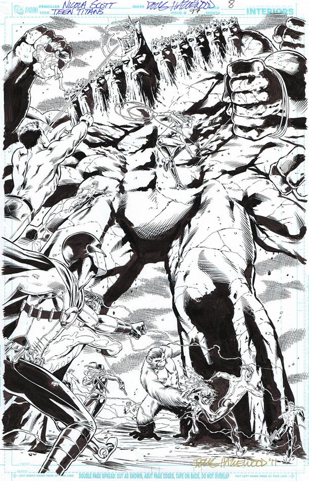 TEEN TITANS #97 Pg 8 - FULL PAGE SPLASH Sold by DRHazlewood