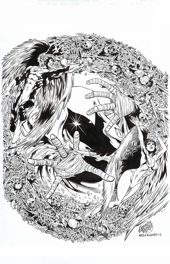 ANGEL/DAWNSTAR Pin-Up - Borges/Hazlewood LEGION by DRHazlewood