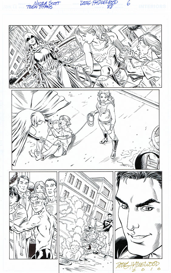 TEEN TITANS 88-6 From Our 1st Issue N. SCOTT $50 by DRHazlewood