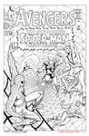 AVENGERS #11 (Vol 1) Cover RECREATION Spider-Man