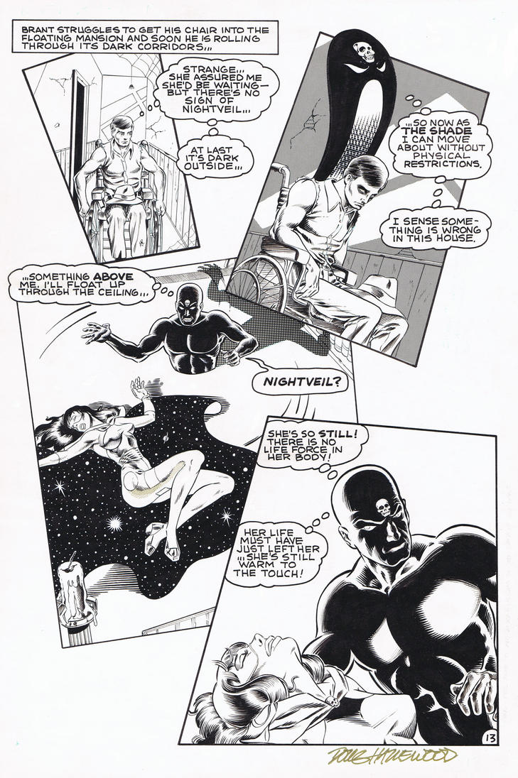NIGHTVEIL #4 (1985) Heike/Hazlewood AMERICOMICS by DRHazlewood