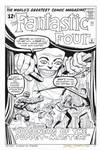 FANTASTIC FOUR #8 Cover Recreation PUPPET-MASTER