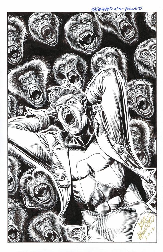 ANIMAL MAN #2 Cover Recreation Bolland - HAZLEWOOD by DRHazlewood