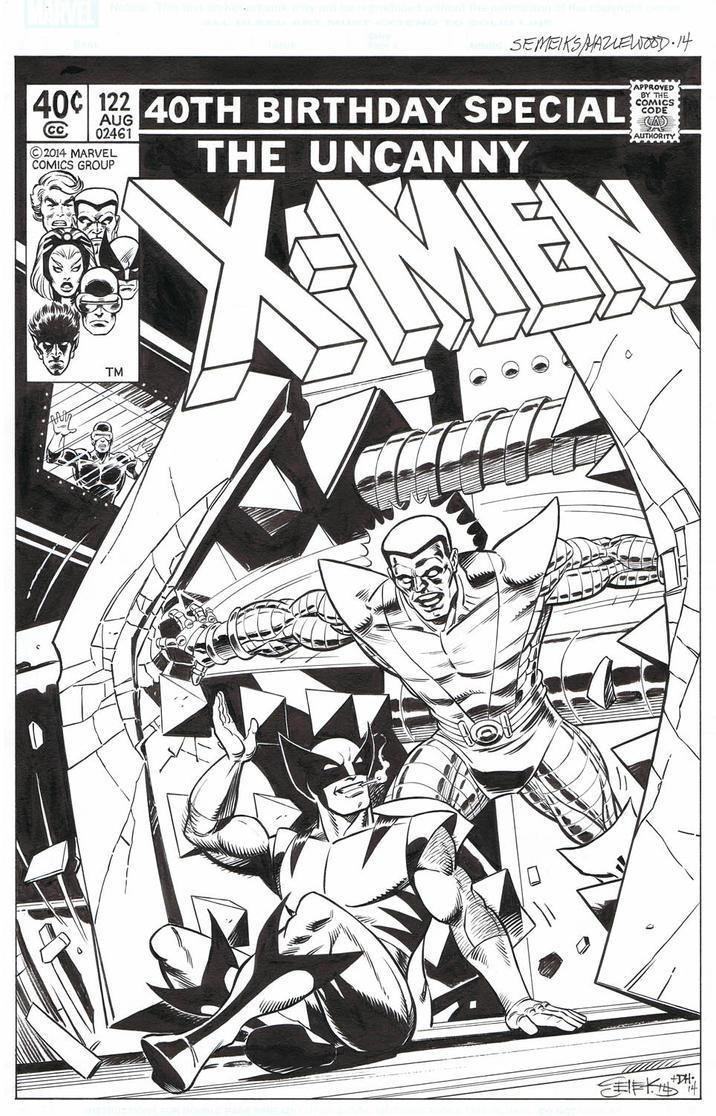X-MEN 122 Cover Reinterpretation SEMEIKS/HAZLEWOOD by DRHazlewood