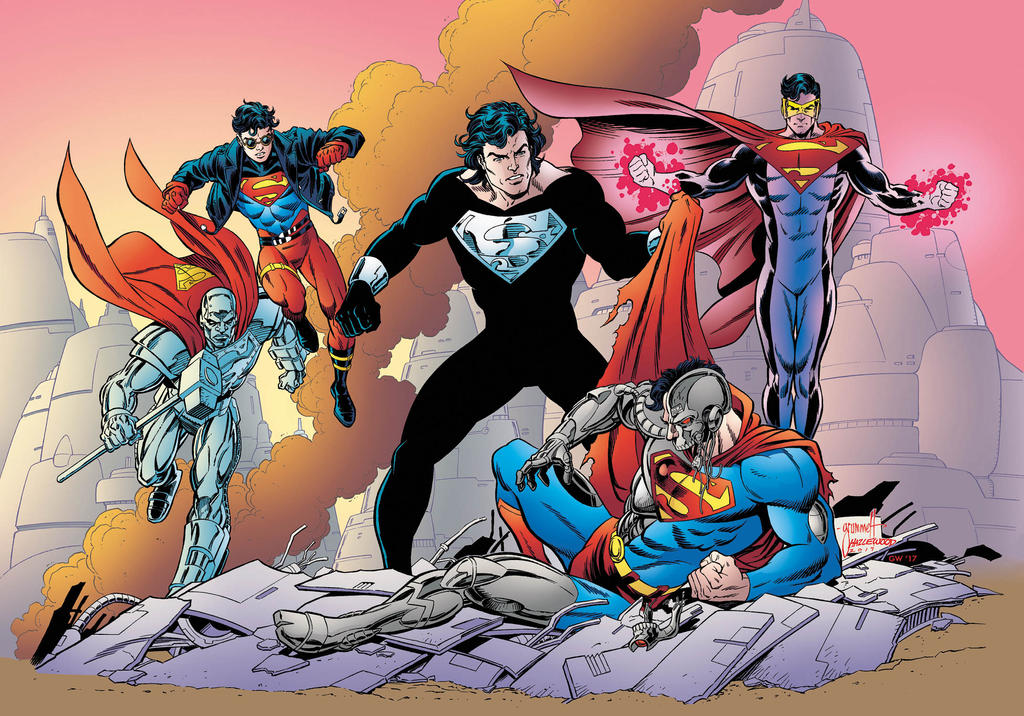 Return of Superman Color Art for Print by DRHazlewood