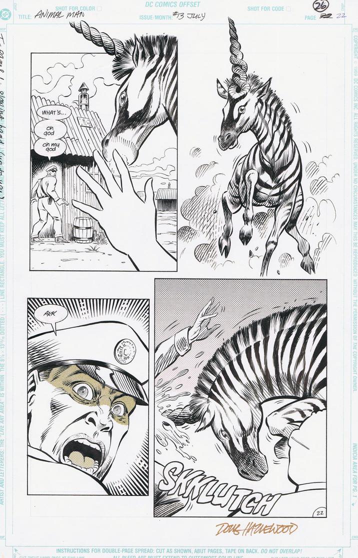 ANIMAL MAN #13 pg 22 TRUOG/HAZLEWOOD 1989 by DRHazlewood