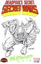 DOOMSDAY Blank Cover Sketch Grummett/HAZLEWOOD $75 by DRHazlewood