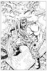 (Superman) DOOMSDAY Grummett-Hazlewood Commission by DRHazlewood