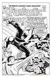 FANTASTIC FOUR Unused #52 Cover Recreation KIRBY
