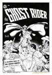 GHOST RIDER Frazetta COVER RECREATION Tim Holt 17