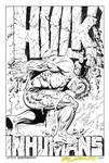 HULK SPECIAL 1 '68 Steranko Cover Art RECREATION