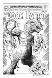 DOOM PATROL #89 Cover Recreation HAZLEWOOD DC