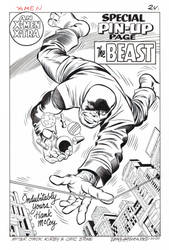 THE BEAST (Early X-MEN Version) PIN-UP RECREATION