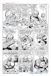 FANTASTIC FOUR #11 Pg 4 RECREATION Kirby/Ayers '62