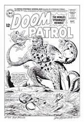 DOOM PATROL #95 Cover Recreation HAZLEWOOD #2